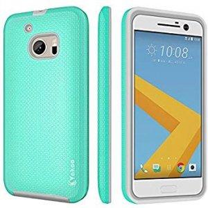 VAKOO Etui Case Heavy Duty Drop Protection - HTC 10 (miętowy)