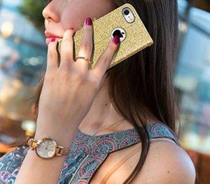 FYY Etui book case - iPhone 7/8/SE 2020 (4.7) (blink gold)