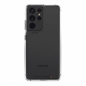 GEAR4 Crystal Palace - obudowa ochronna z powłoką antybakteryjną do Samsung S21 Ultra (przezroczysta)