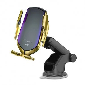 TECH-PROTECT R2 CAR MOUNT WIRELESS CHARGER GOLD