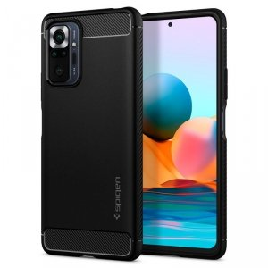 SPIGEN RUGGED ARMOR XIAOMI REDMI NOTE 10 PRO MATTE BLACK