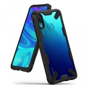 Ringke Fusion X etui pancerny pokrowiec z ramką Huawei P Smart 2019 czarny (FXHW0011)