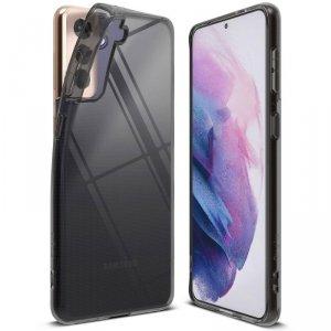 Ringke Air ultracienkie żelowe etui pokrowiec Samsung Galaxy S21+ 5G (S21 Plus 5G) czarny (ARSG0041)