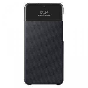 Samsung S View Wallet etui kabura bookcase z inteligentną klapką okienkiem Samsung Galaxy A32 5G czarny (EF-EA326PBEGEE)