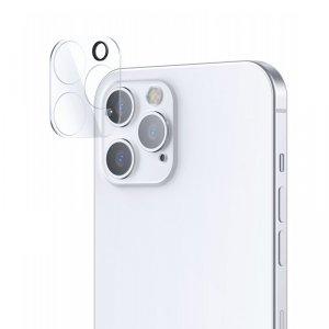 Joyroom Mirror Series szkło hartowane na cały aparat obiektyw kamerę do iPhone 12 Pro Max przezroczysty (JR-PF731)