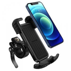 Ugreen uniwersalny rowerowy uchwyt na telefon na rower motocykl kierownicę czarny (LP494 black)
