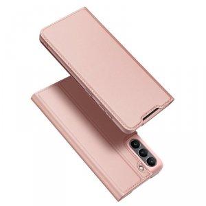 Dux Ducis Skin Pro kabura etui pokrowiec z klapką Samsung Galaxy S21 FE różowy