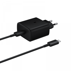 Samsung oryginalna ładowarka sieciowa Super Quick Charge 25W USB Typ C czarny (EP-TA800XBEGWW)
