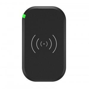 Choetech szybka ładowarka bezprzewodowa z 3 cewkami ładującymi do telefonu 10W czarny (T513-S)
