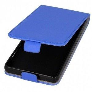 Kabura pionowa rubber HUAWEI HONOR 6X niebieski