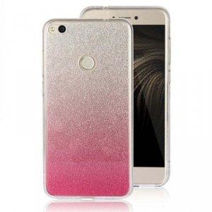 Etui Glitter SAMSUNG J5 2017 srebrno różowe