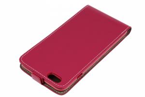 Kabura pionowa Rubber IPHONE 6+ 5,5 różowa