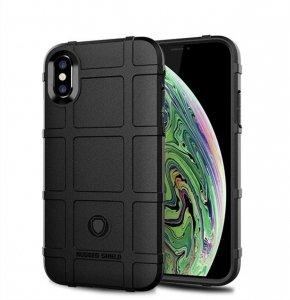 Etui Pancerne Rugged Square IPHONE XS MAX czarne