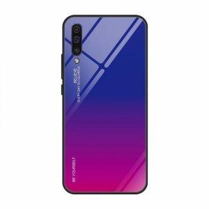 Etui HUAWEI Y5 2019 Szklane Glass Case Gradient niebiesko-różowe