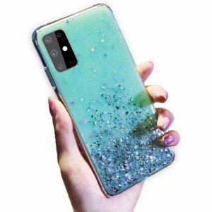 Etui XIAOMI MI 9T / MI 9T PRO Brokat Cekiny Glue Glitter Case zielone