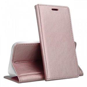 Etui MOTOROLA MOTO G8 POWER portfel z klapką skóra ekologiczna Kabura Magnet Book jasny róż