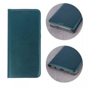 Etui HUAWEI P30 LITE portfel z klapką skóra ekologiczna Kabura Magnet Book ciemnozielone