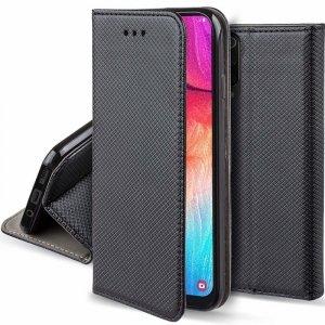 Etui MOTOROLA MOTO E6S portfel z klapką Flip Magnet czarne