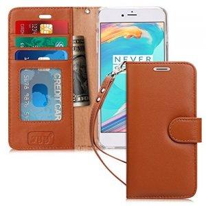 FYY Etui book case ze smyczką - iPhone 6+/6S+ (5.5) (brązowy)