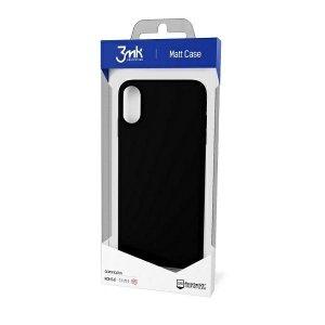 3MK Matt Case Xiaomi Redmi Note 9T 5G czarny/black