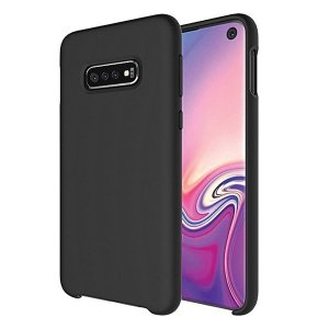 Beline Etui Silicone Huawei P40 Lite czarny/black