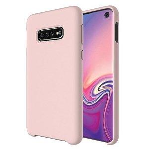 Beline Etui Silicone Huawei Y5p różowo-złoty/rose gold