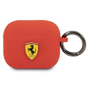 Ferrari FEA3SILRE AirPods 3 cover czerwony/red Silicone