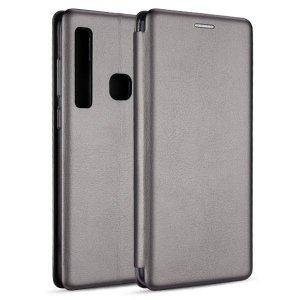 Etui Book Magnetic Samsung A8 A530 2018 stalowy/steel A5 2018