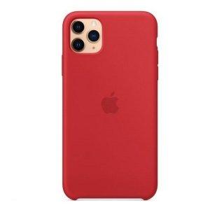 Etui Apple MWYV2ZM/A iPhone 11 Pro Max czerwony/red Silicone Case