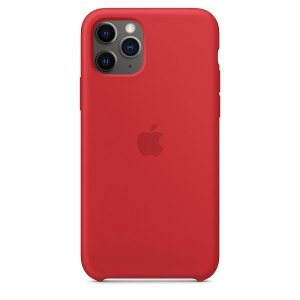 Etui Apple MWYH2ZM/A iPhone 11 Pro czerwony/red Silicone Case