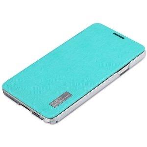 Rock Side Flip Elegant Samsung N9000 blu Note 3