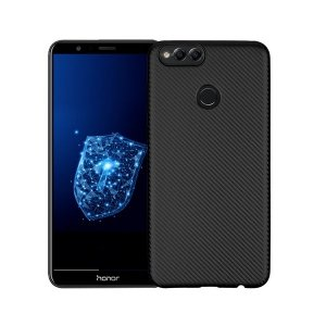 Etui Carbon Fiber Huawei Honor 7X czarny /black