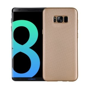 Etui Carbon Fiber Samsung S8 G950 złoty /gold