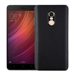 Etui Carbon Fiber Xiaomi Note 4/4X czarn y/black