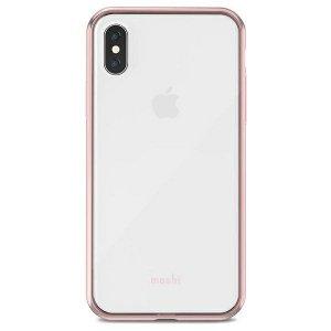 Etui Moshi Vitros iPhone X/Xs różowy przezroczysty/ Orchid pink 31833