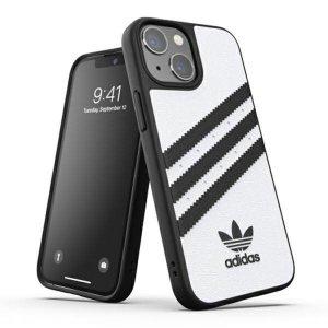 Adidas OR Moulded Case PU iPhone 13 mini 5,4 biały/white 47081