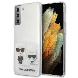 Karl Lagerfeld KLHCS21MCKTR S21+ G996 hardcase Transparent Karl & Choupette