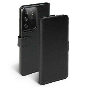 Krusell PhoneWalet Sam G998 S21 Ultra czarny/black 62252