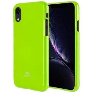 Mercury Jelly Case iPhone 5/5S limonkowy