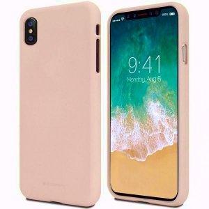 Mercury Soft Huawei P20 lite różowo-pias kowy /pink sand
