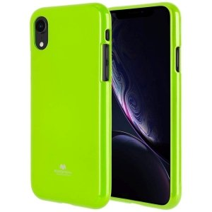 Mercury Jelly Case Huawei P20 limonkowy /lime