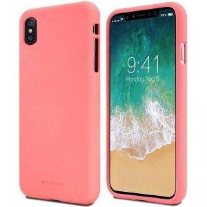 Mercury Soft Samsung A42 5G A426 różowy/pink