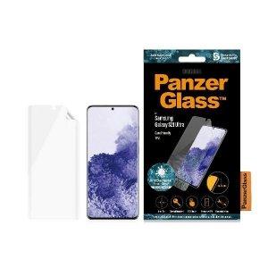PanzerGlass TPU Samsung S21 Ultra G998 Case Friendly, Fingerprint, Antibacterial, Designed for Samsung, Materiał TPU