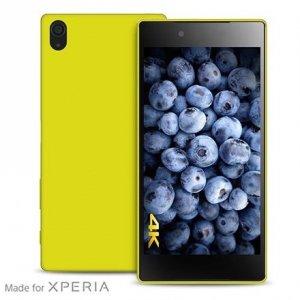Puro Ultra Slim 0.3 Sony Z5 Premium 5,5 limonkowy SYXZ5PR03GRN