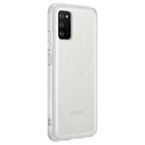 Etui Samsung EF-QA026TT A02s Clear Cover Transparent
