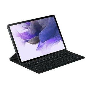 Etui z klawiaturą Samsung EF-DT730UB Tab S7+/ S7 FE czarny/black Bookcover Keyboard