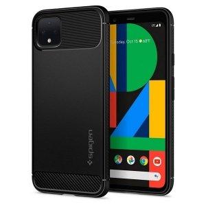 Spigen Rugged Armor Google Pixel 4 XL czarny/black F25CS27554