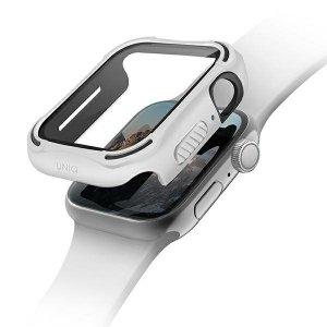 UNIQ etui Torres Apple Watch Series 4/5/6/SE 40mm. biały/dove white