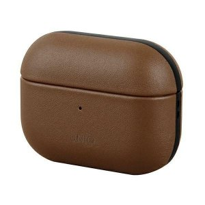 UNIQ etui Terra AirPods Pro Genuine Leather brązowy/brown