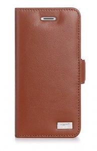 FYY Etui book case ze smyczką - iPhone 7/8/SE 2020  (4.7) (brązowy)